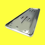 Number plate holders