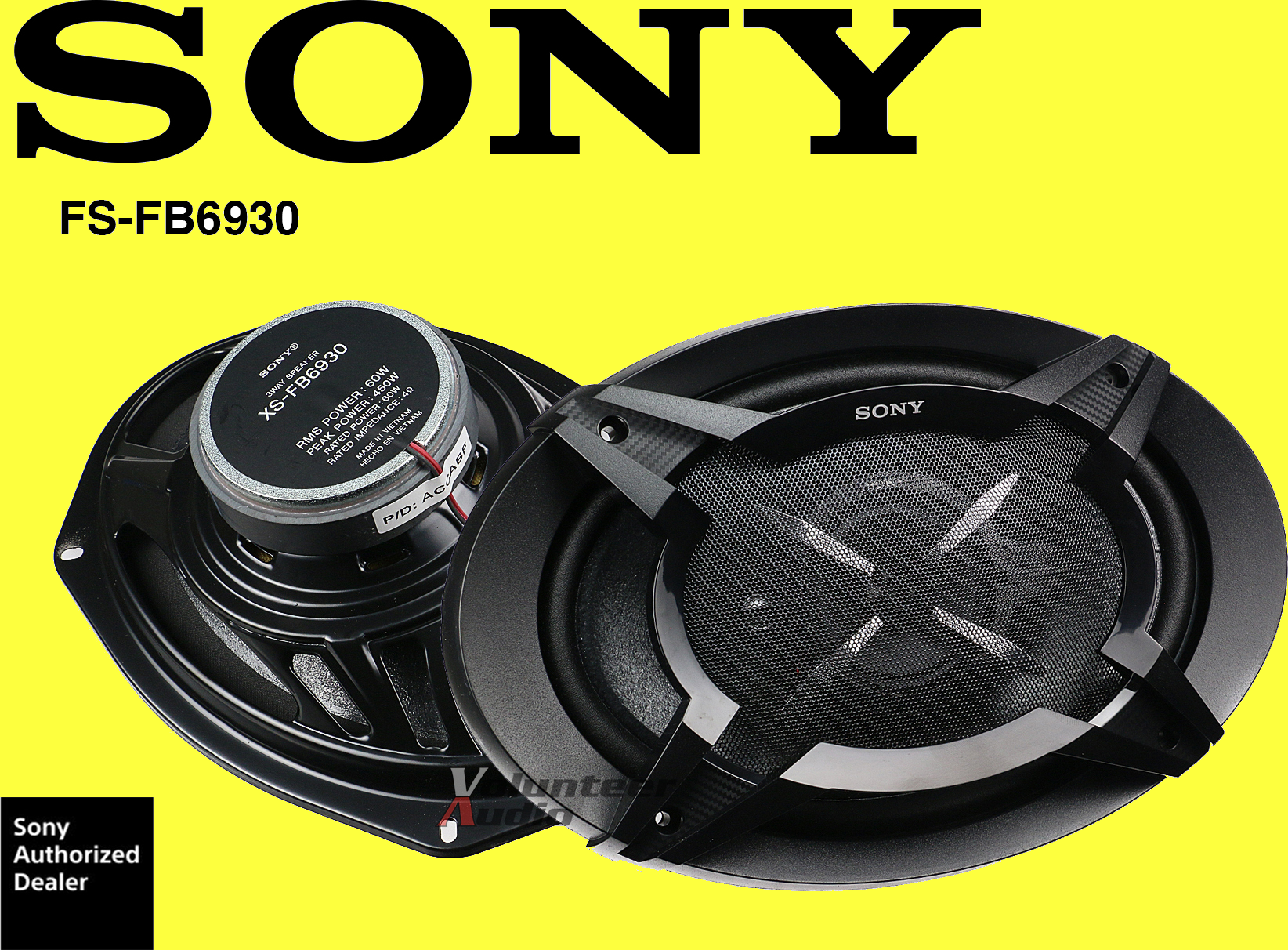 Sony 6 x 9 Car Speaker(1)