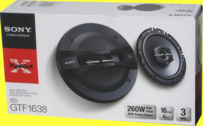 Speakers Sony 6 210w(2)